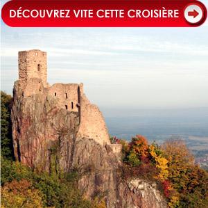 Le château du Girsberg, à Ribeauvillé